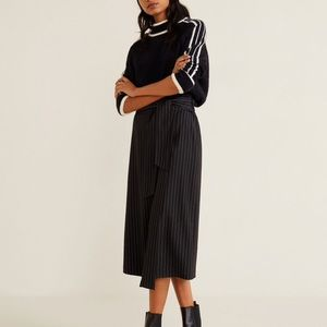 *NEW* Mango Belt Midi Skirt